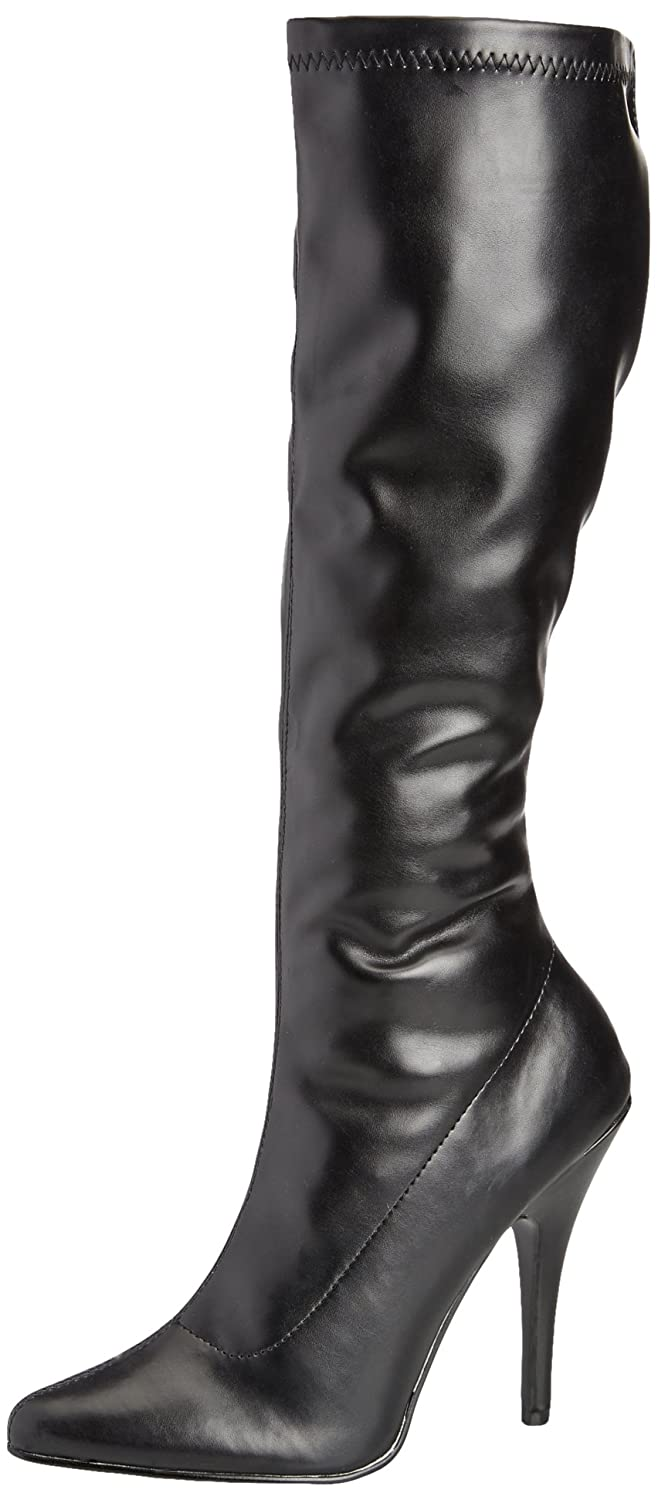 Pleaser B00A0IUY0S Women's Seduce-2000 Knee-High Boot B00A0IUY0S Pleaser 11 B(M) US|Black 791623