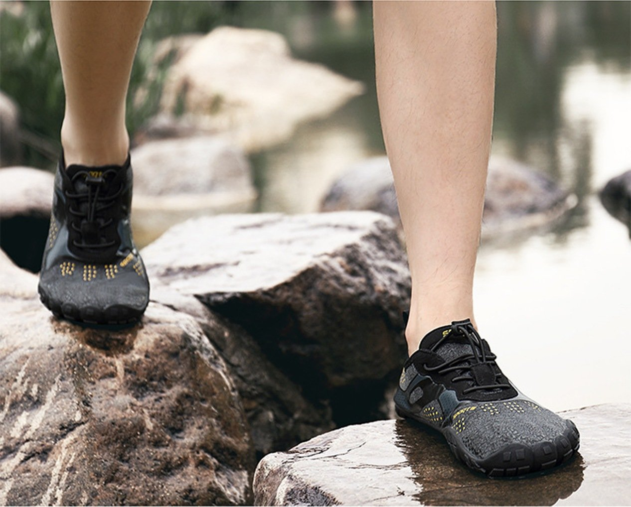 INFMETRY Men Women Wide Men/5.5 Boating Water Shoes B07D3W9G5V 4.5 Men/5.5 Wide Women|Black 1470d8
