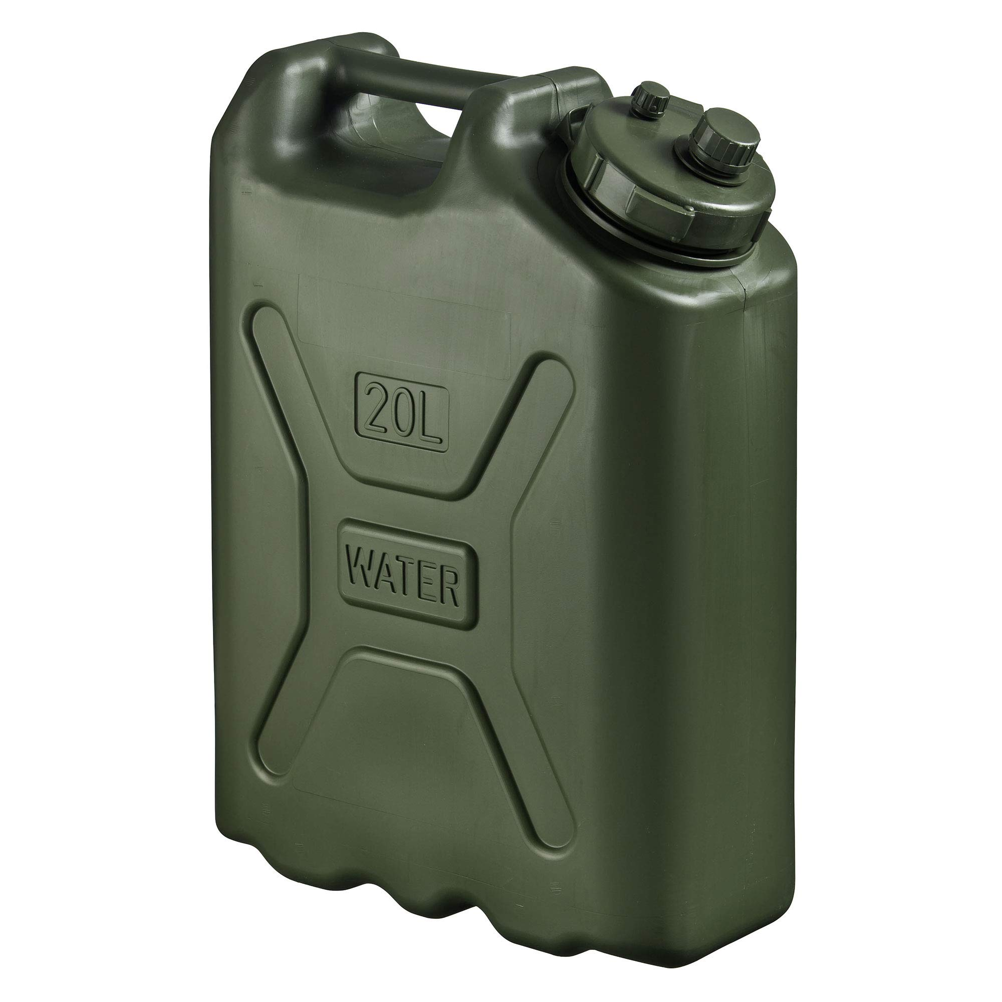 Scepter BPA Durable 5 Gallon 20 Liter Portable Water Storage Container, Green by Scepter
