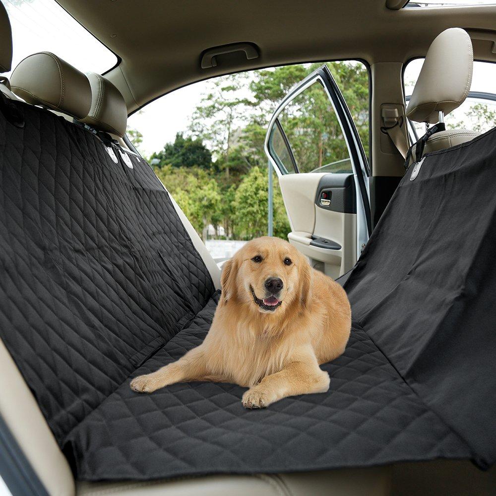 KYG Cubierta de Asientos de Coche Impermeable para Perros Protector de Mascotas de Estilo Hamaca Funda de Asientos Antideslizante y Comodo Manta Animal de Coche para Coche Cami/ón SUV para Viajes