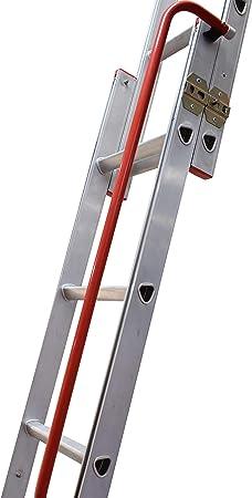 Slider 2 secciones escalera para desván deslizante - para montaje de suelo a Loft piso entre 2,13 m y 2,69 m - Loft Rebecca hose: Amazon.es: Bricolaje y herramientas