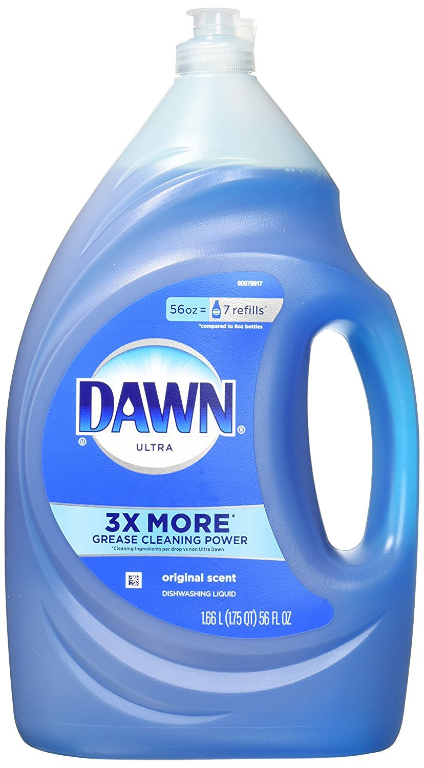 Dawn RCdJHO Ultra Dishwashing Liquid Dish Soap, Original Scent (Packaging May Vary), 56 Ounce, 10 Count by Dawn