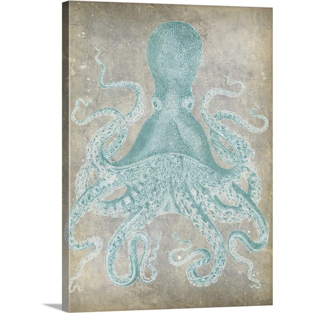 Jennifer Goldbergerプレミアムシックラップキャンバス壁アート印刷題名Spa Octopus I 18