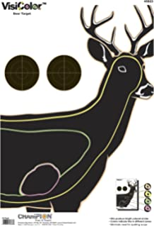 photograph about Printable Deer Target referred to as : Winner Deer Vitals Paper Concentration, 14x18, 12ct