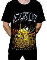 Evile - Infected Nations Black T-shirt