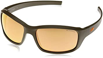 Julbo Slick Gafas de Sol polarizadas Hombre, Hombre, Color Army/Orange, tamaño