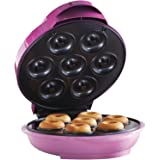 Brentwood TS-250 Appliances Electric Food Maker-Mini Donut Maker, Pink
