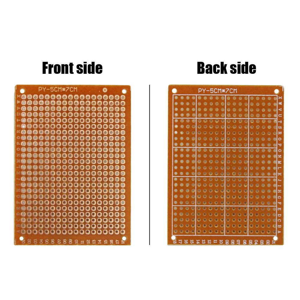 Cenrykay Circuit Board Double Sided Pcb Universal Printed Soldering Boardfor Diy