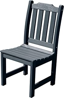 product image for highwood AD-CHDL1-FBE Lehigh Armless Dining Chair, Federal Blue