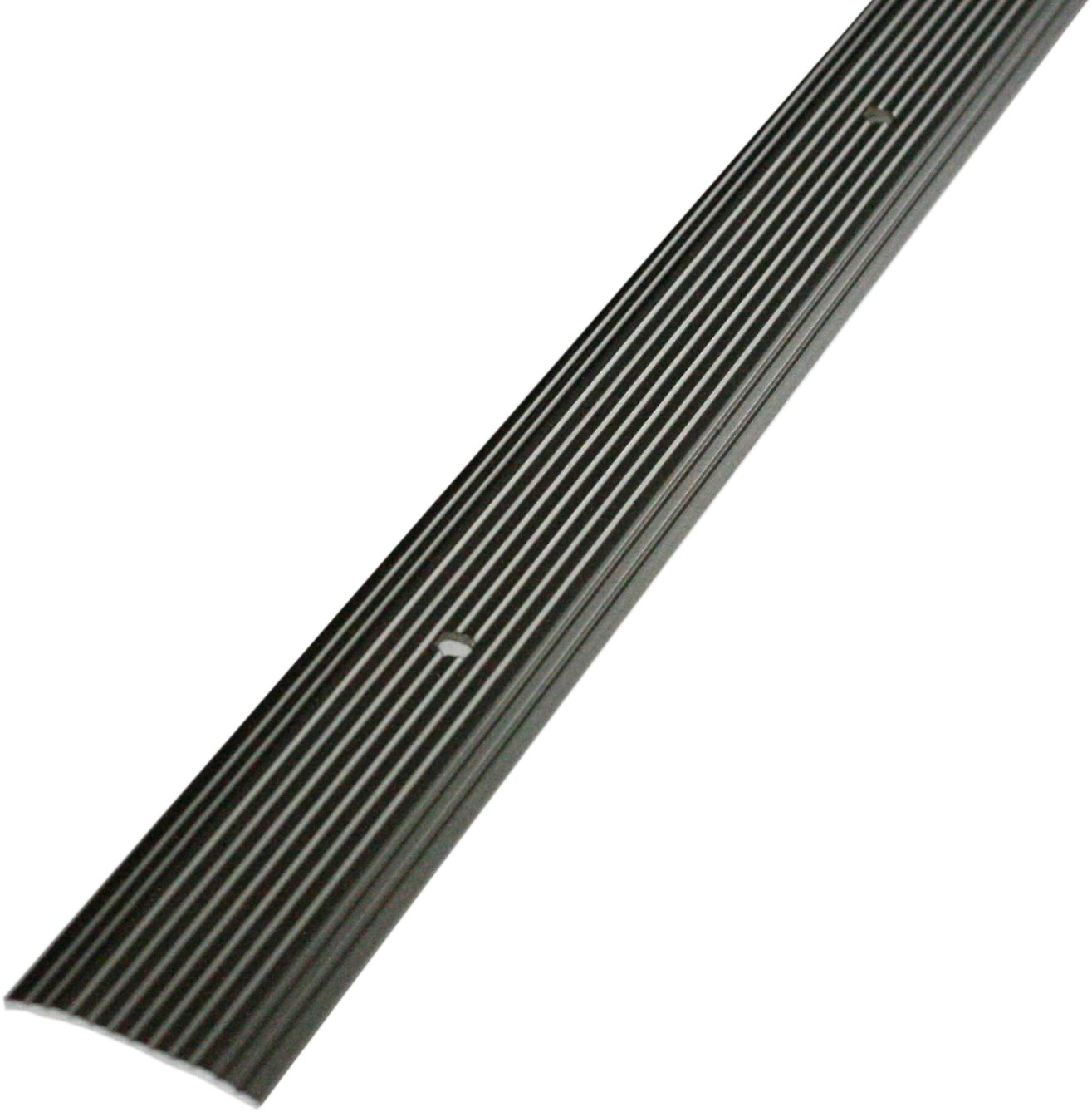 Pewter M-D Building Products 43872 M-D Wide Fluted Seam Binder 1-1//4 in W X 36 in L X 0.1 in H
