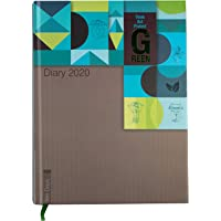 Cubic 17 Think Green 366-Days Executive Diary 2020
