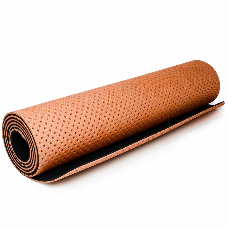 Esterilla de yoga »Suri« / Esterilla de TPE respetuosa con el medio ambiente, hipoalergénica, suave y antideslizante, perfecta tanto para profesores ...