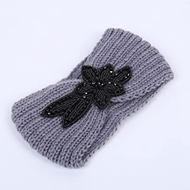 Sporealth Fashion Ladies Cabled Headband Winter Accessories Chunky