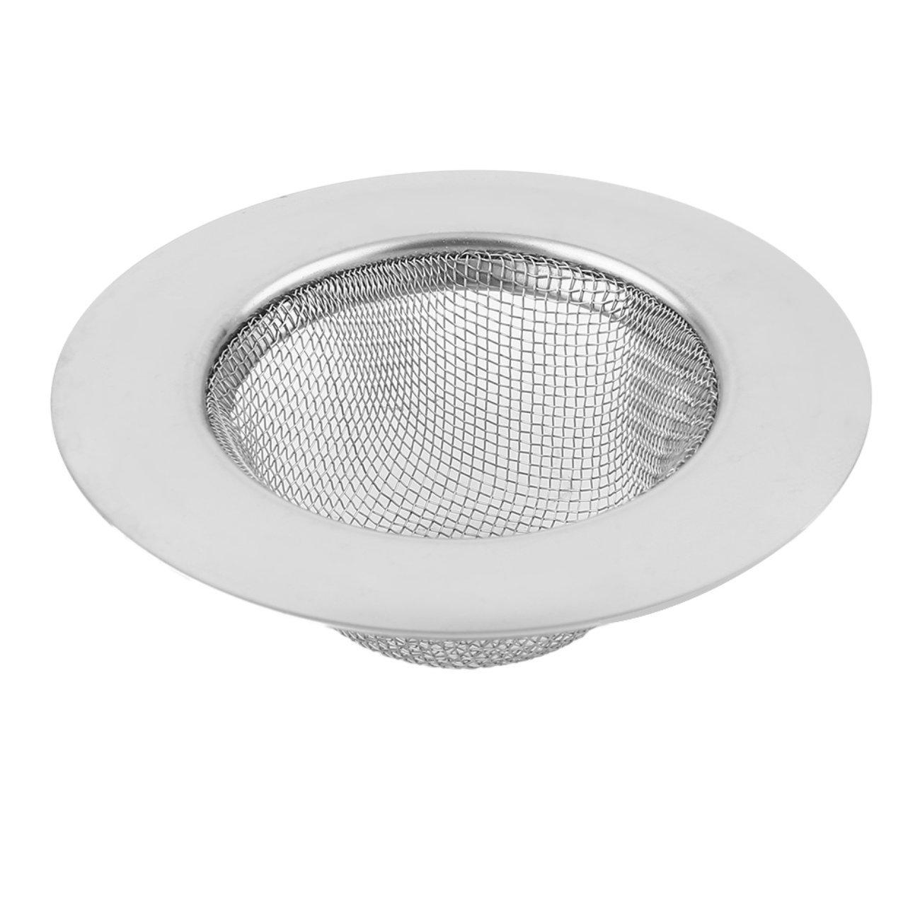 plata y 9 cm JIUY Acero inoxidable piso cocina fregadero de drenaje del filtro colador de evitar la obstrucci/ón de alcantarillado Appliance Rejilla del tanque de agua