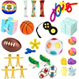 LRIGYEH Sensory Fidget Toys Set, 31 PCS Stress Relief and Anti-Anxiety Toys for Adults Kids ADHD ADD Anxiety Autism with Stre