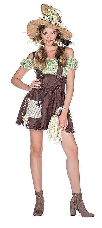 Rubie`s Disfraz de Mujer Vestido de espantapájaros Carnival Farm ...