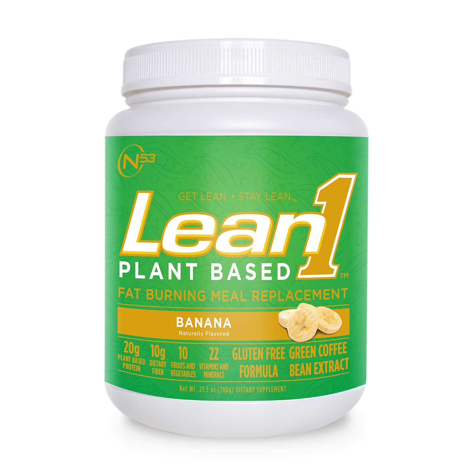 LEAN1 , Plant Banana, 27.5 Ounce