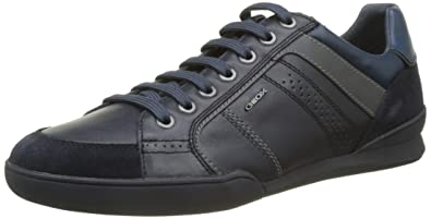 Geox U Kristof A, Sneakers Basses Homme, Bleu (Navy), 42 EU  Amazon ... 8f0bab1ddff4