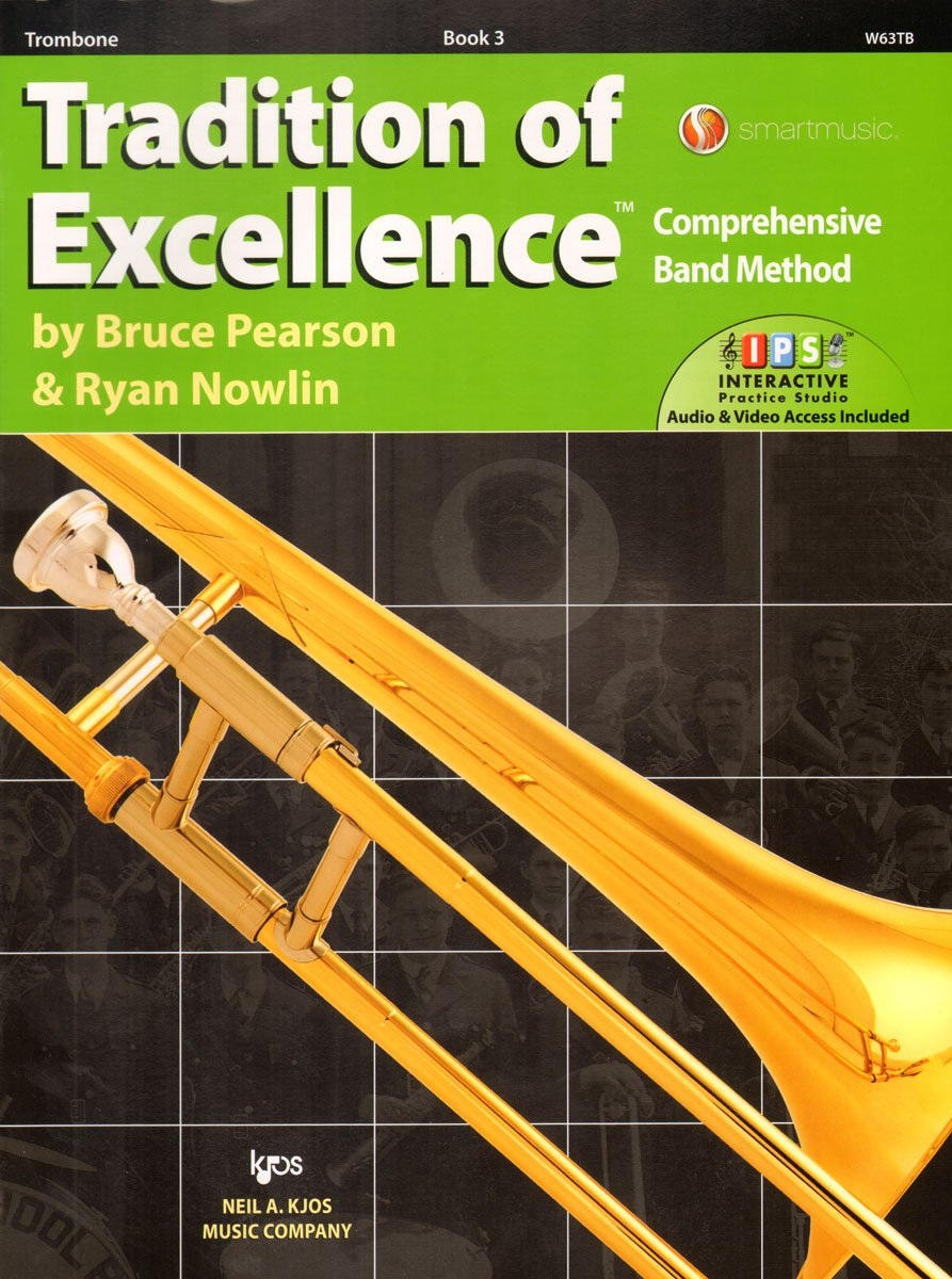 W63TB - Traditon of Excellence Book 3 - Trombone