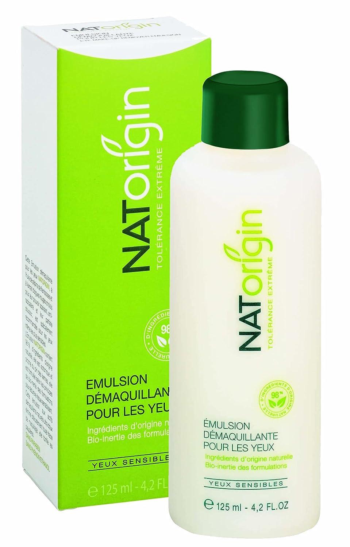 NATorigin Eye make-up remover 125ml emulsion (milk base - white) Contapharm NAT101