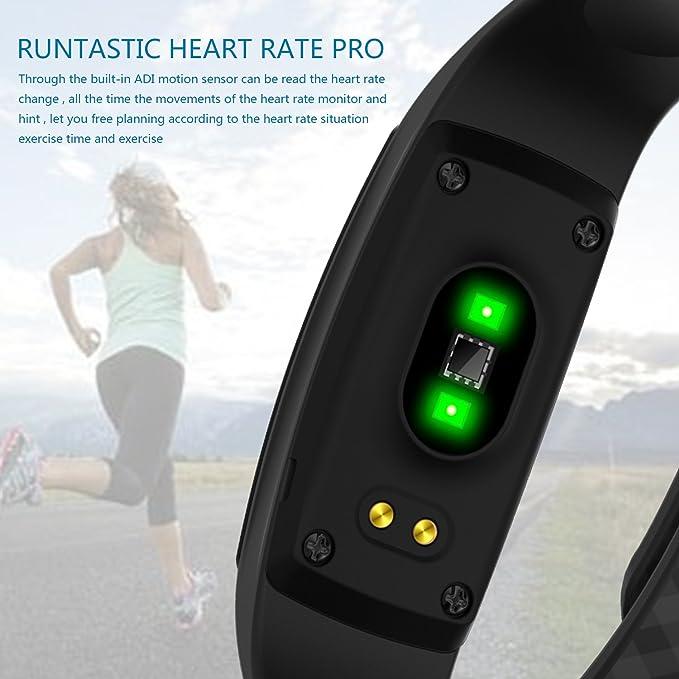 Finess Tracker, denisy Smart pulsera con corazón tasa ...