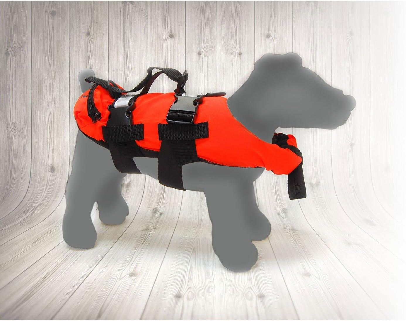 Small Orange TWF Dog Lifejacket