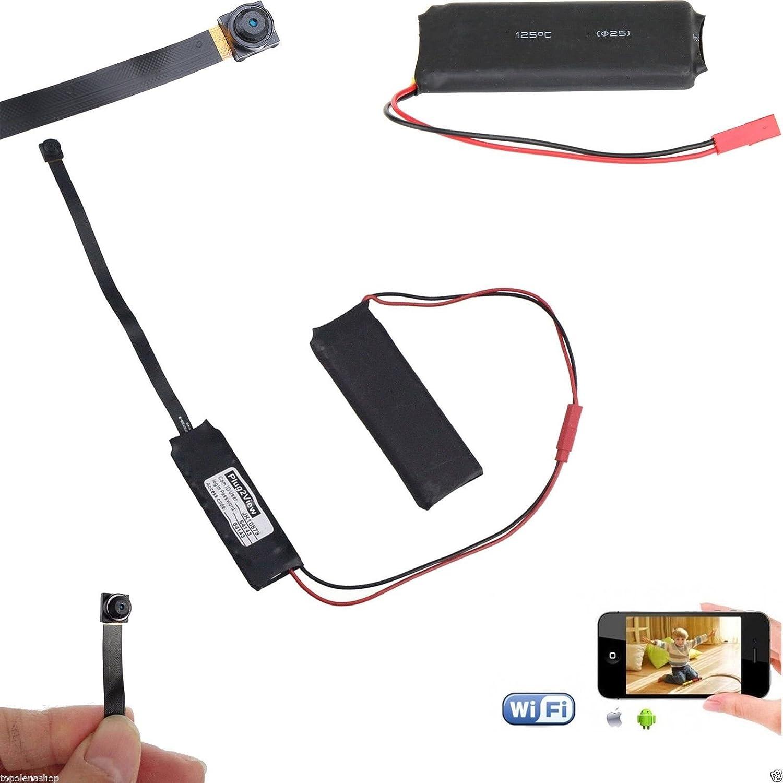 Mini Telecamera Spia TANGMI 720P HD WIFI Videoregistratore ...