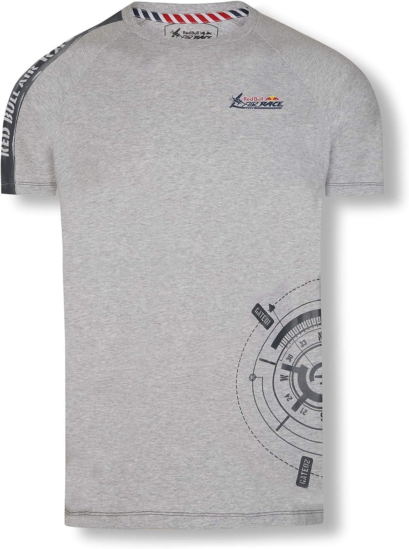 Red Bull Air Race Compass Camiseta, Gris Hombre Medium Top, Air ...