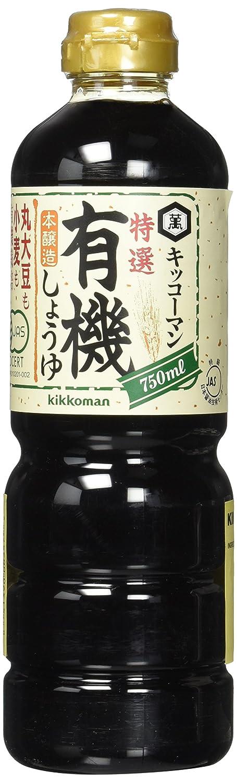 Kikkoman Organic Soy Sauce, 25.40 Fluid Ounce