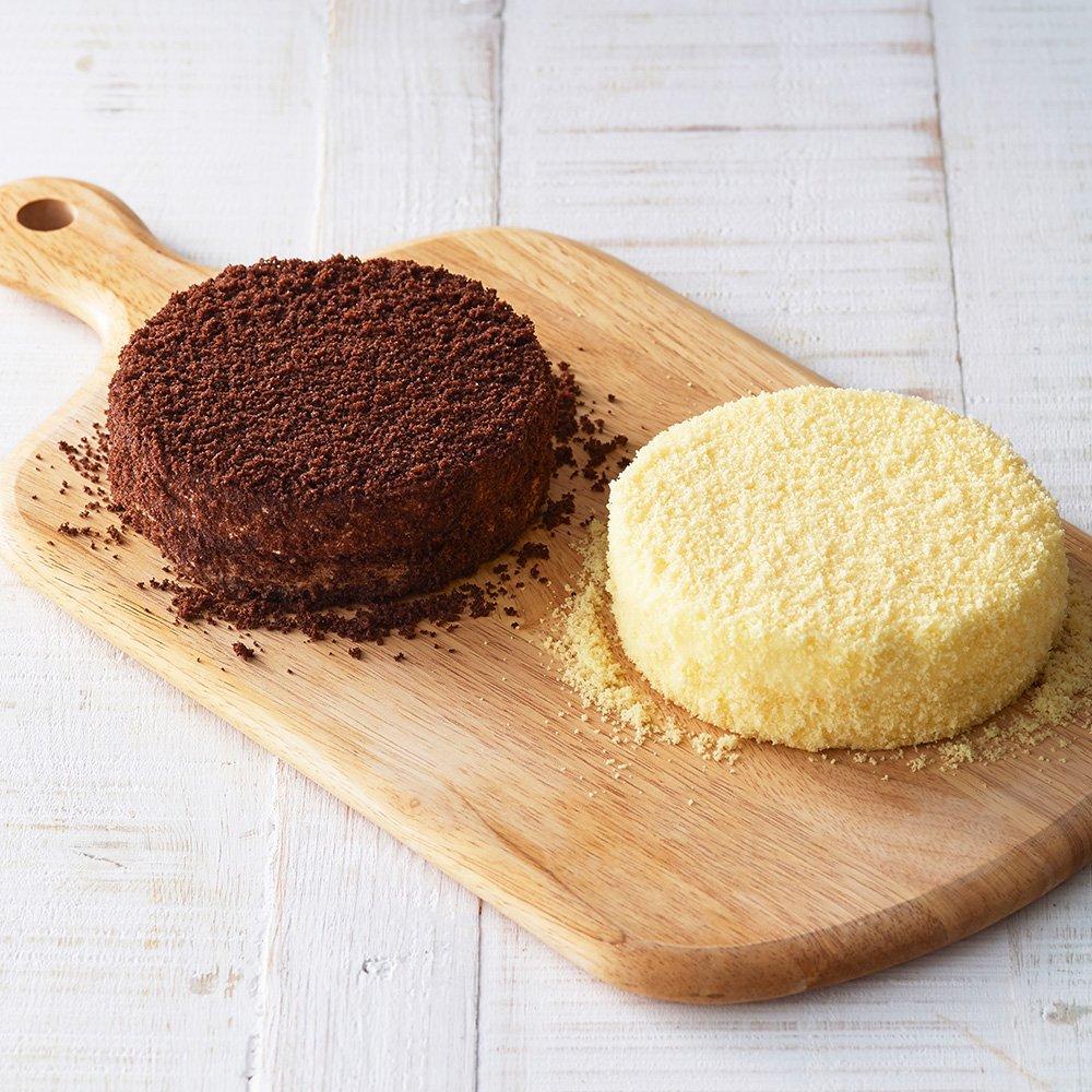 【Amazon.co.jp 限定】 ルタオ (LeTAO) チーズケーキ ドゥーブルフロマージュとショコラドゥーブル お試しセット