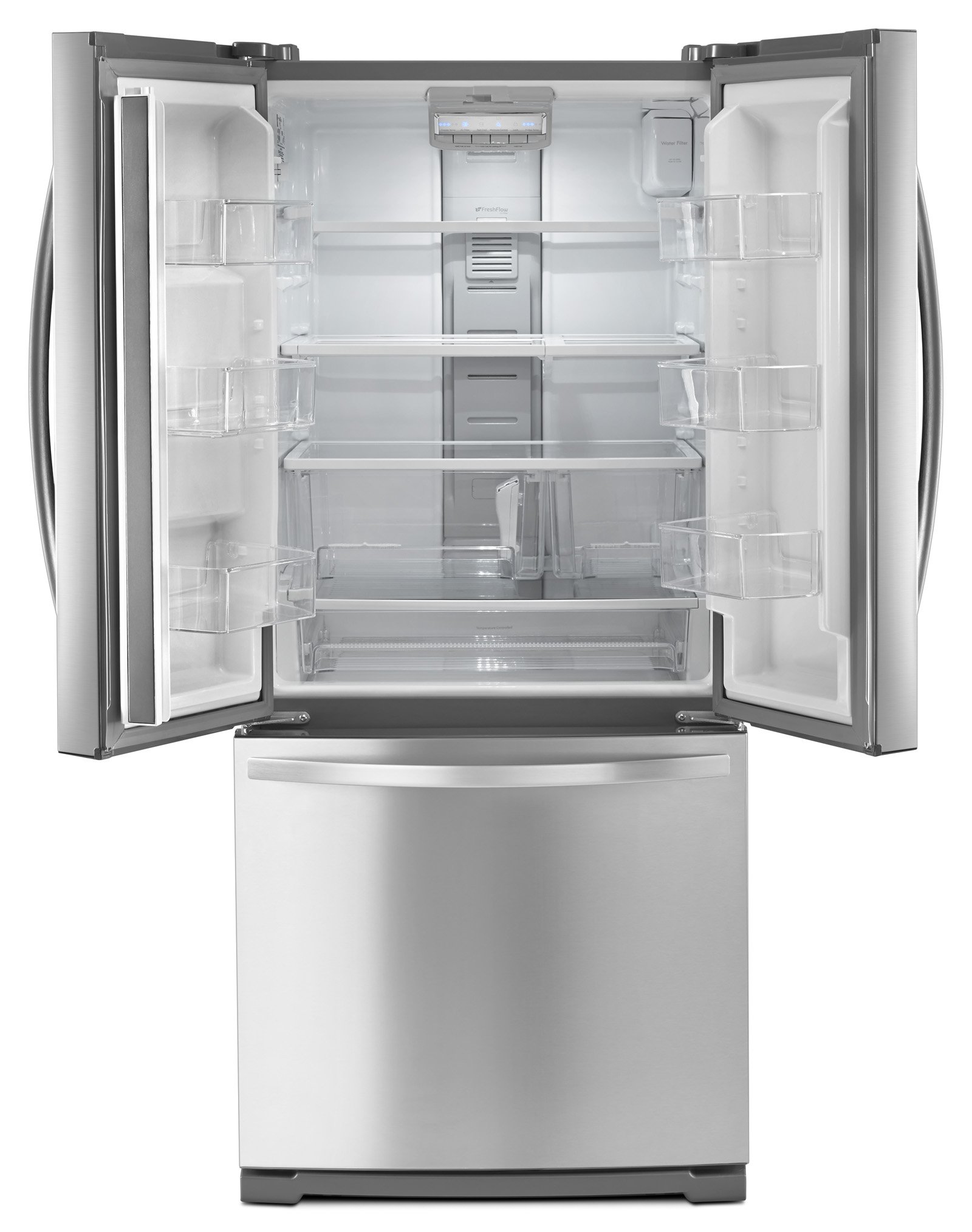 Kenmore 73003 19.5 cu. ft. Non-Dispense French Door Bottom-Freezer Refrigerator in Stainless Steel, includes delivery and hookup (Available in select cities only) by Kenmore (Image #4)