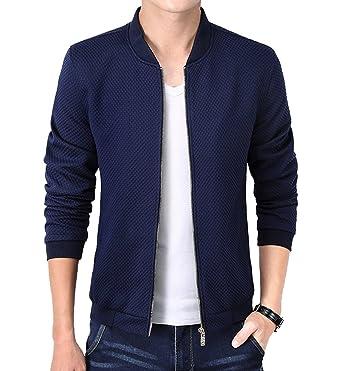 450154feea7a Magike Veste Homme Vestons Printemps Slim Fit Jacket Blazer Blouson Casual Loisir  Affaires Mariage