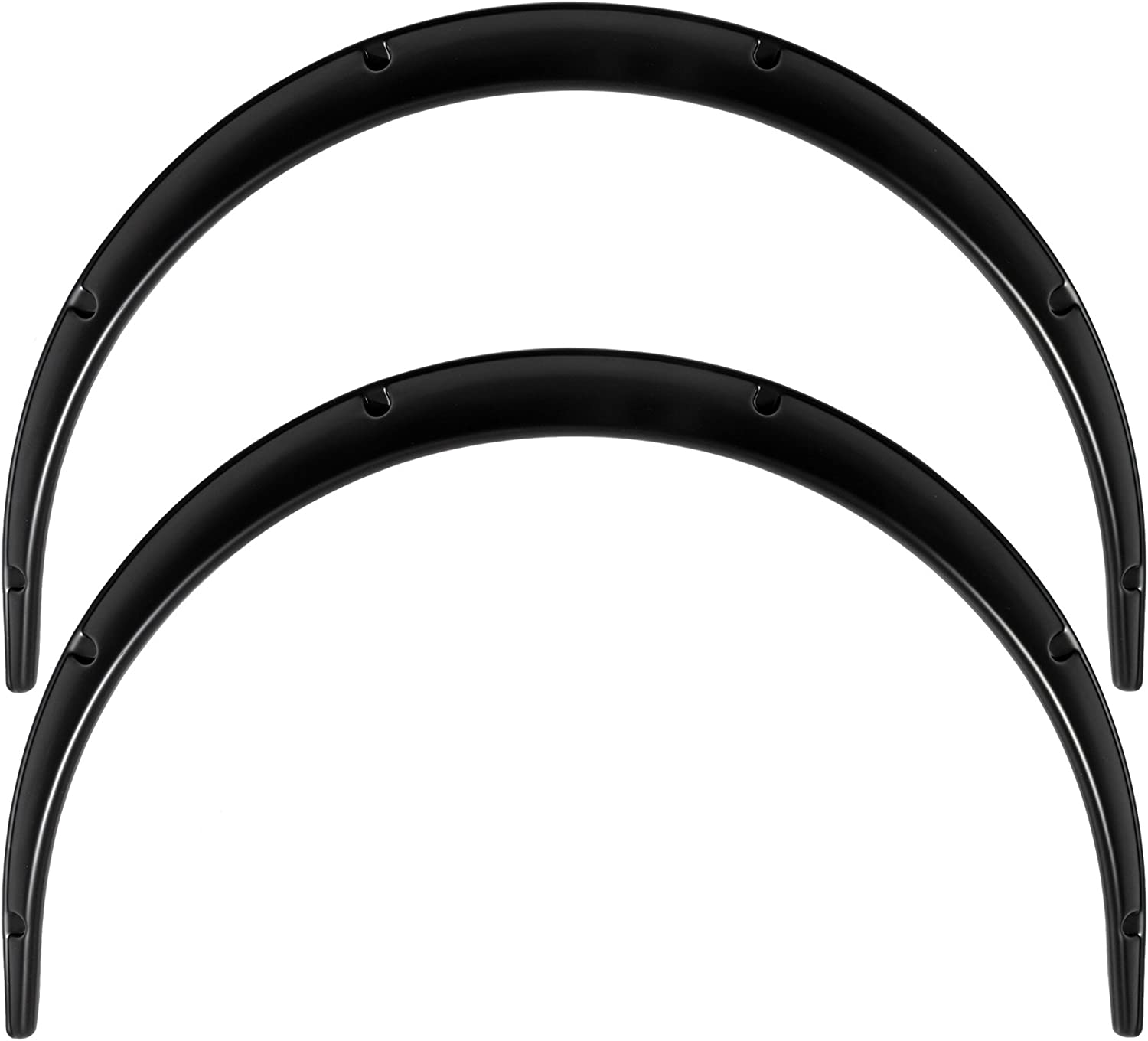 Jumdoo Universal JDM Fender flares CONCAVE over wide body Arch Extensions ABS 2.75 70mm 2pcs
