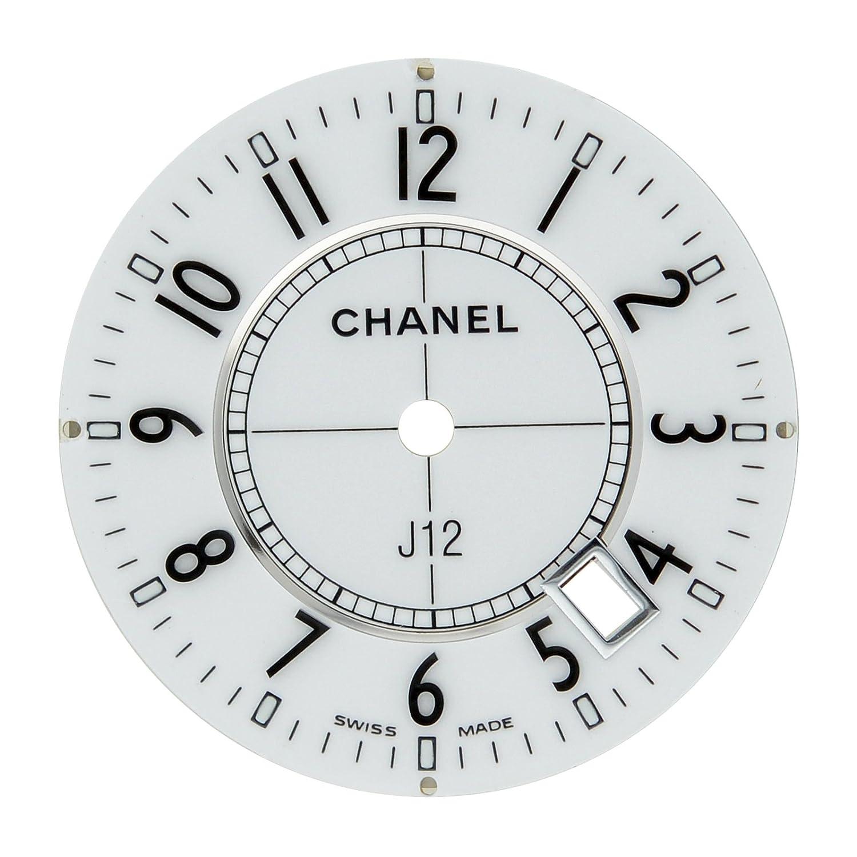 Chanel J12 23 mm weiß Arabisches Zifferblatt fÜr 33 mm h0968 Quarzuhr Modell