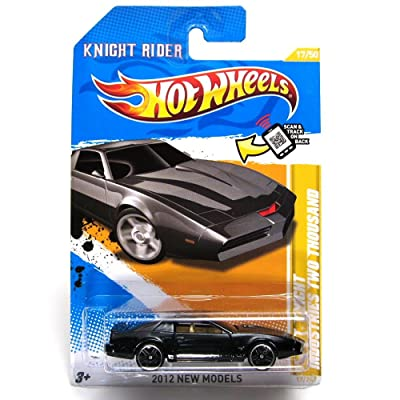 Hot Wheels 2012 K.I.T.T. Knight Rider Industries Two Thousand Die-Cast Collectible.: Toys & Games