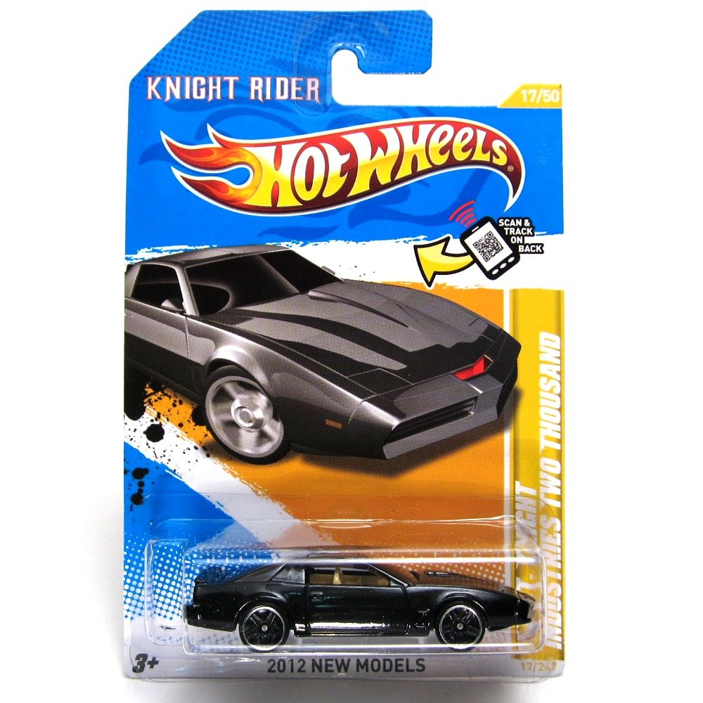 amazoncom hot wheels 2012 kitt knight rider industries two thousand die cast collectible toys games - Hot Wheels Cars 2012