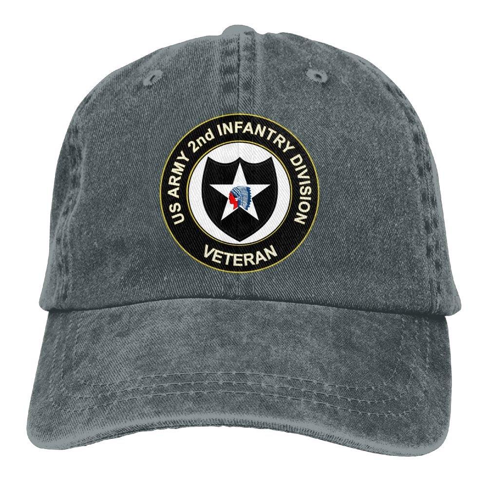 07e573008abeb NVSHENYU US Army Veteran 2nd Infantry Division Baseball Cap Dad Hat at  Amazon Men s Clothing store