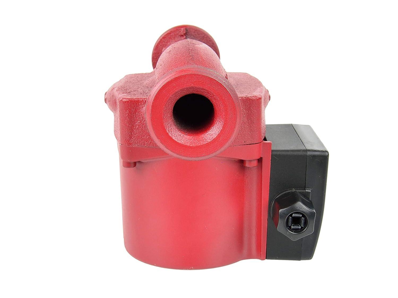 Heizungspumpe Umw/älzpumpe 25-60//180 Zirkulationspumpe f/ür Zentralheizung