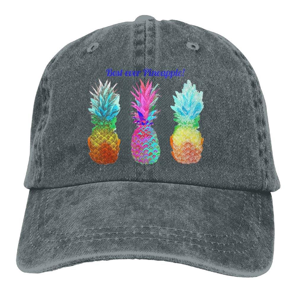 GqutiyulU Best Ever Pineapple Adult Cowboy Hat Asphalt