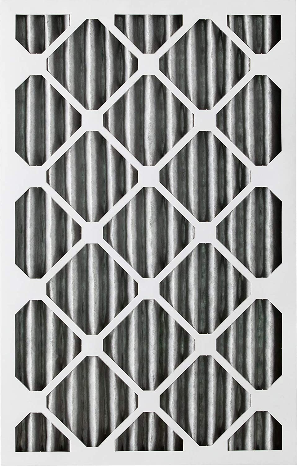 Nordic Pure 18x20x2 MERV 8 Pleated Plus Carbon AC Furnace Air Filters 18 x 20 x 2 12 Piece