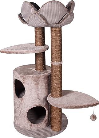 Flamingo raspador/Cesta Lotus para Gato 48 x 48 x 110 cm: Amazon.es: Productos para mascotas