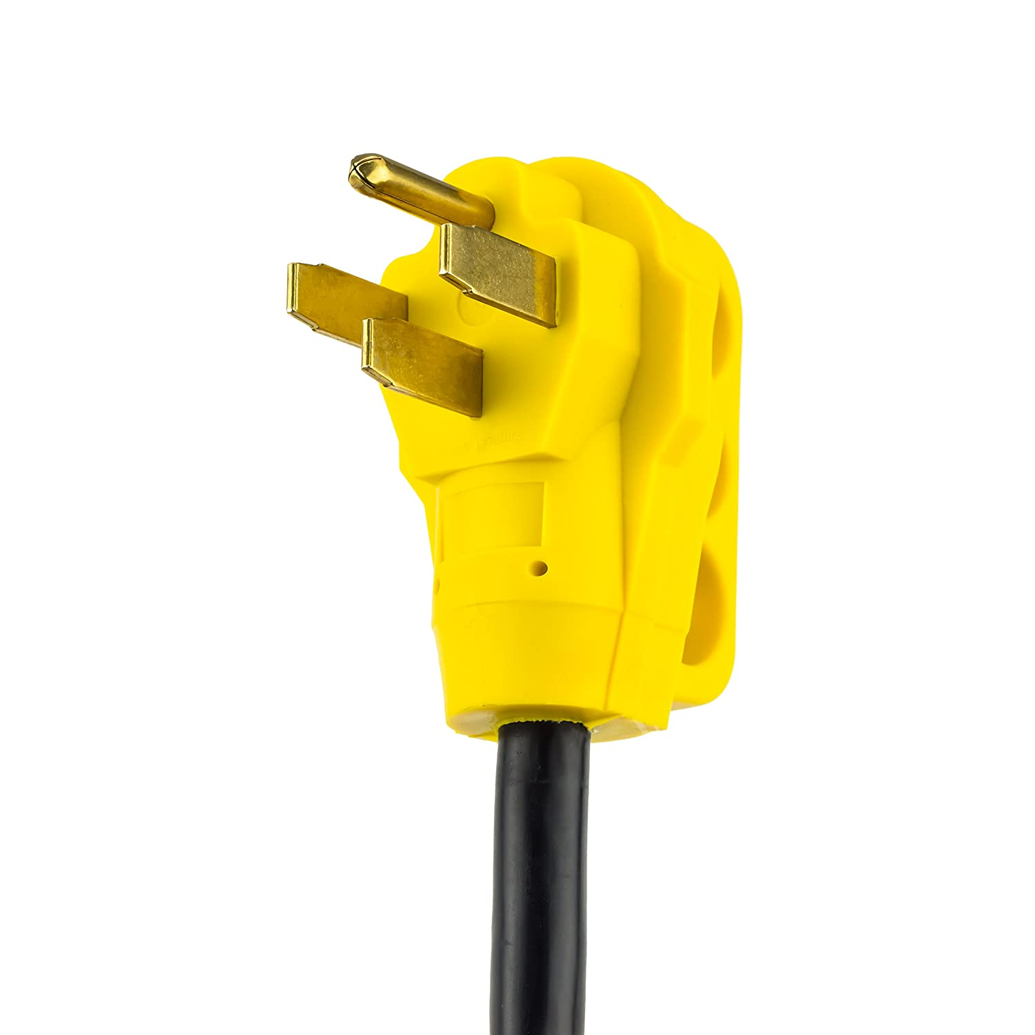 2 4350290806 50 Amp Male Plug to 30 Amp RV Female Connectors DRM Products Inc Proline Power RV Camper Y Adapter Cord with Handles
