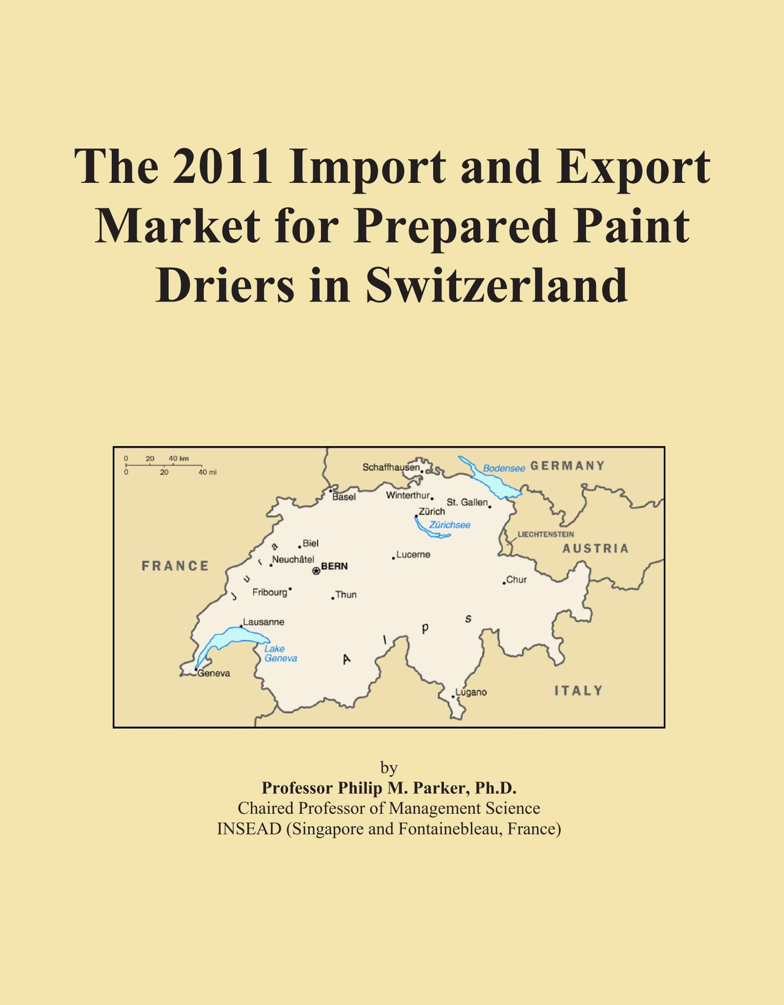 Download The 2011 Import and Export Market for Prepared Paint Driers in Switzerland pdf