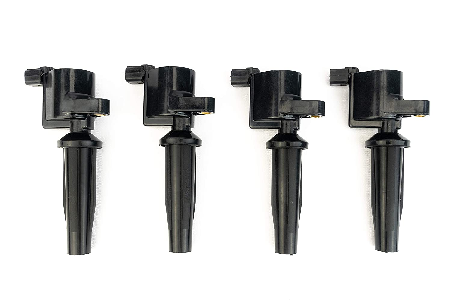 Ignition Coil Pack Set of 4 - Replaces# DG541, DG507, 4M5G12A366BC, C1453 - Fits Ford Escape, Focus, Transit Connect, Mercury Mariner, Mazda 3-2.0L, 2.3L - 2003, 2004, 2005, 2006, 2007, 2008-2013 AA Ignition