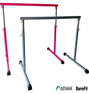 SISYAMA Ballet Barre Booty Bar Portable Freestanding Adjustable Workout Fitness Stretch Dance Bar