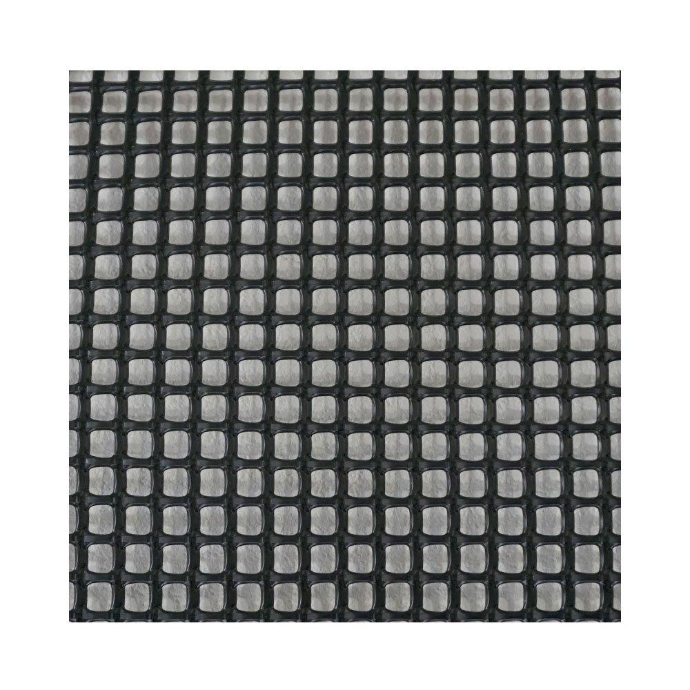 プラスチックネット トリカルネット N-24 黒 幅124cm×長さ50m巻 目合い10×10mm JQ B01N996PUZ  幅124cm×長さ50m