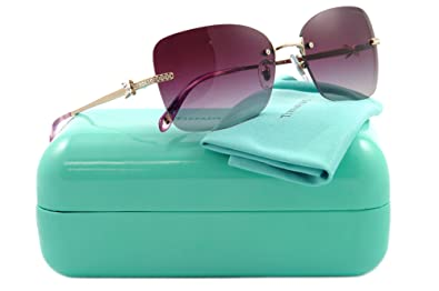 Amazon.com: Tiffany 3027B 602/4I oro 3027 anteojos de sol ...