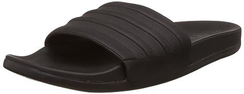 online retailer 477ea 050b4 adidas Adilette Cf+ Mono, Herren Pantoletten Dusch-  Badeschuhe, Schwarz  (Core Black