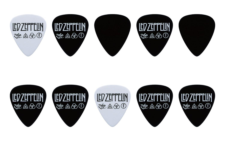 Amazon.com: Led Zeppelin Guitar Pick Set (10pcs): Musical Instruments