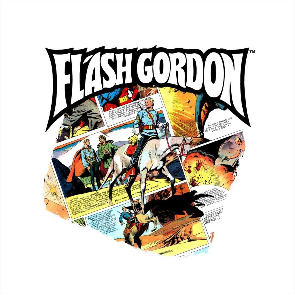 Comics Kingdom Flash Gordon Gryph Riding Montage Mens Sweatshirt